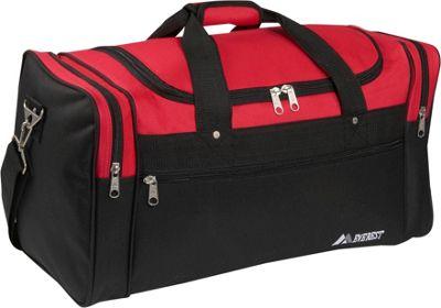 Everest 26 inch Sports Duffel Bag Red/Black - Everest Travel Duffels