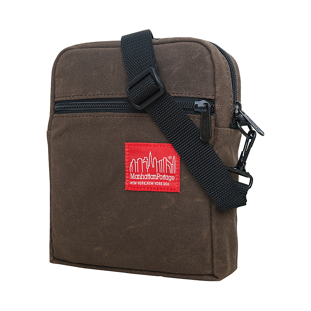 Manhattan Portage Waxed Canvas City Lights Bag - Cross Body - Work Bags & Briefcases, Other Men's Bags