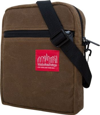 Manhattan Portage Waxed Canvas City Lights Bag Field Tan - Manhattan Portage Other Men's Bags