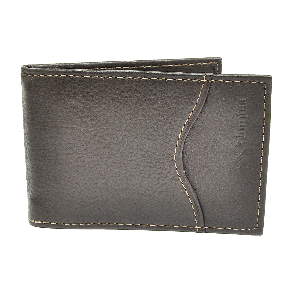 Columbia Front Pocket Wallet - Brown - Work Bags & Briefcases, Men's Wallets