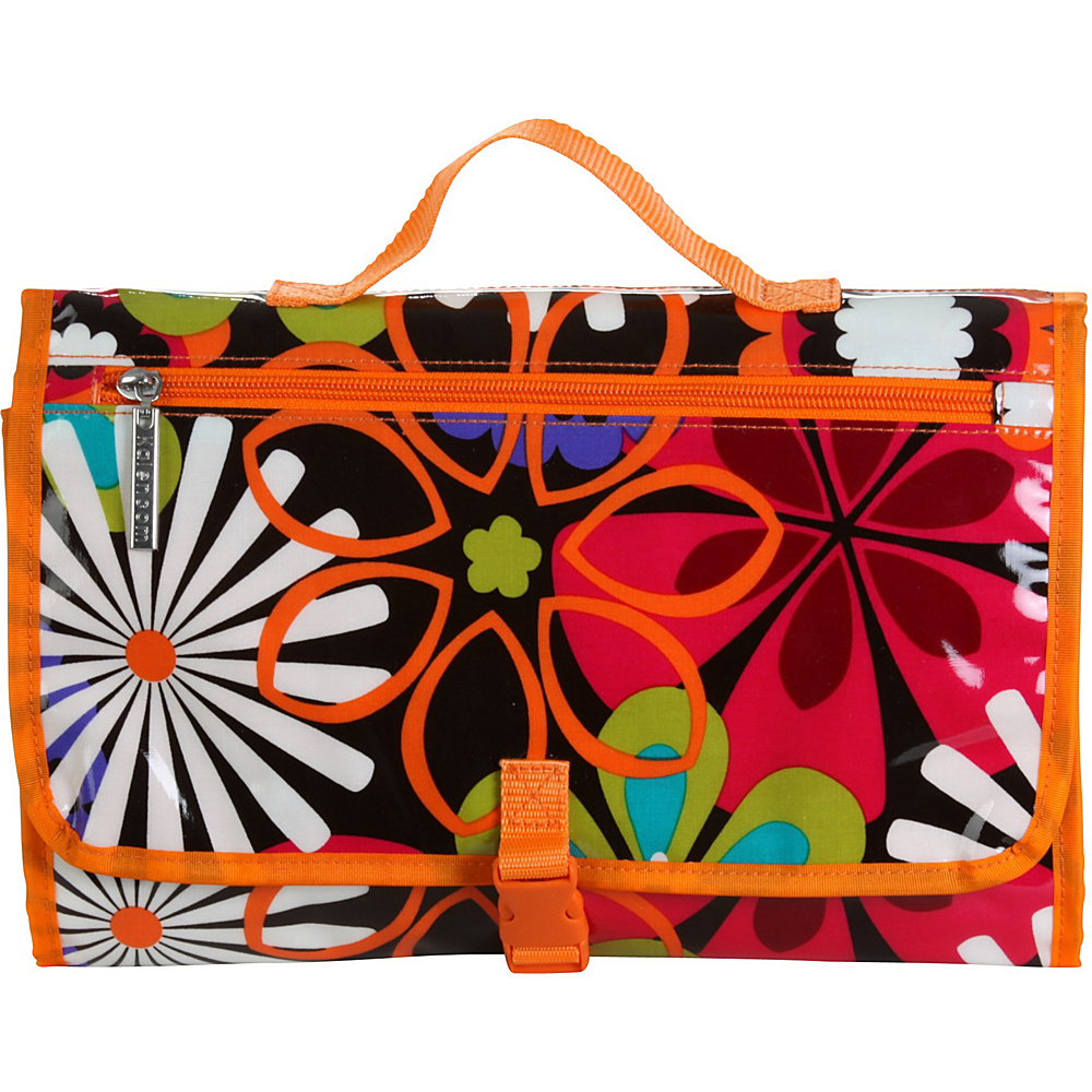 Kalencom Quick Change Kit Toile Chocolate/Pink - Kalencom Diaper Bags & Accessories