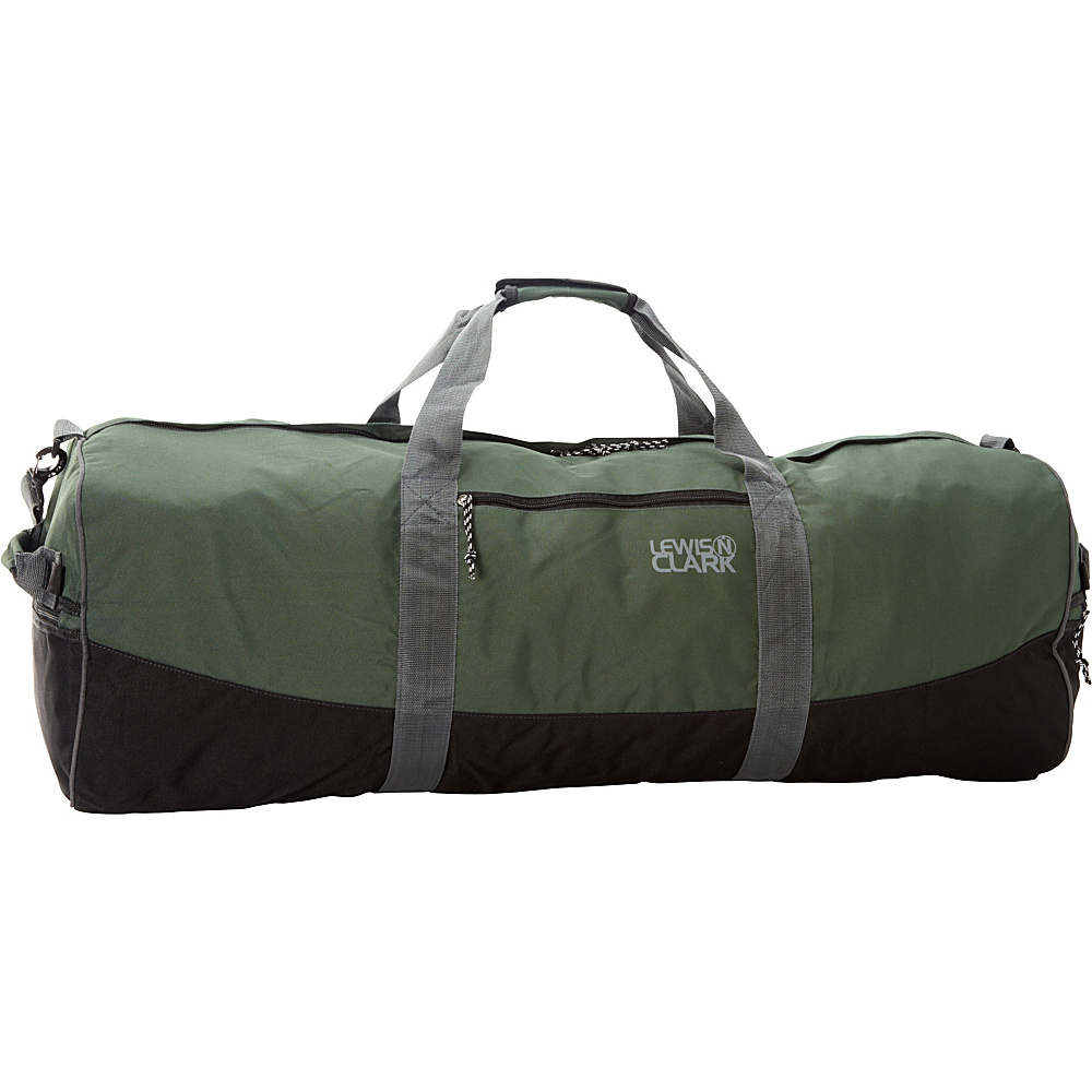 Lewis N. Clark Uncharted Duffel Bag - Medium - Green - Luggage, Rolling Duffels
