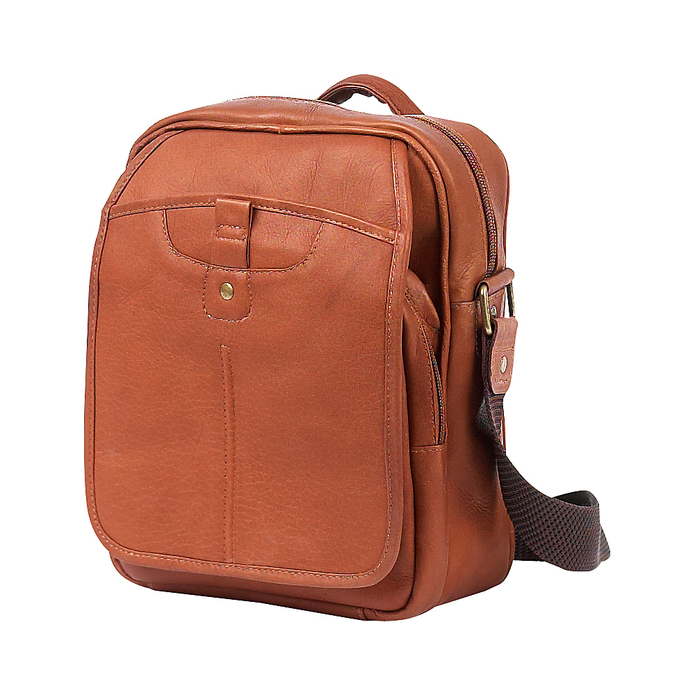 ClaireChase Classic Man Bag - Saddle - Work Bags & Briefcases, Other Men's Bags