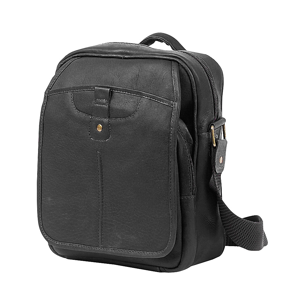 ClaireChase Classic Man Bag - Black - Work Bags & Briefcases, Other Men's Bags