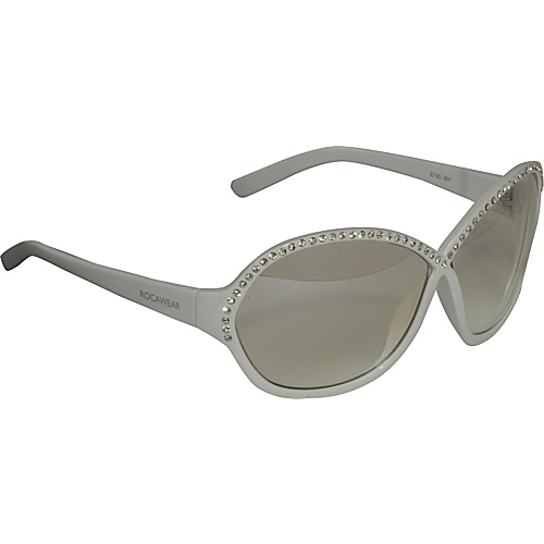 Rocawear Sunwear Round Stone Embellished Sunglasses