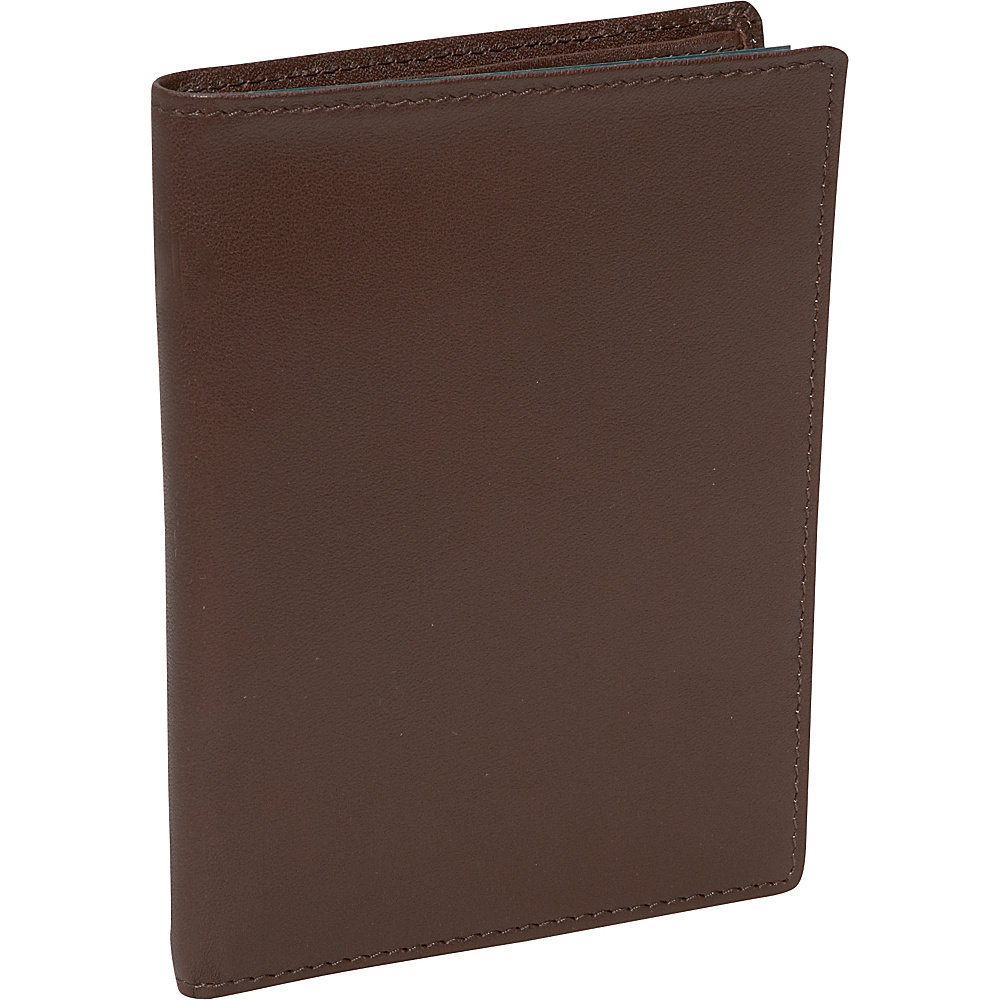 Royce Leather RFID Blocking Passport Currency Wallet -