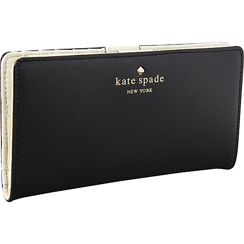 kate spade new york Mikas Pond Stacy Black - kate spade new york Designer Ladies Wallets