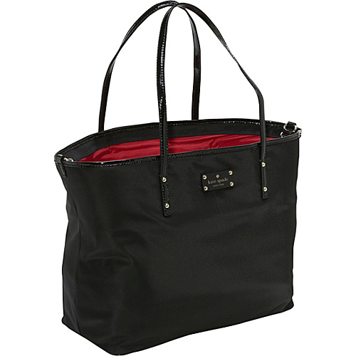 kate spade new york Sporty Nylon Rosemarie Baby Bag Black - kate spade new york Designer Diaper Bags