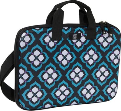 Nuo Chloe Dao 15.6 inch Slim Laptop Brief Blue Lotus - Nuo Non-Wheeled Business Cases