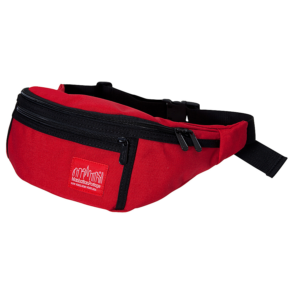 Manhattan Portage Alleycat Waistbag - Red - Backpacks, Waist Packs