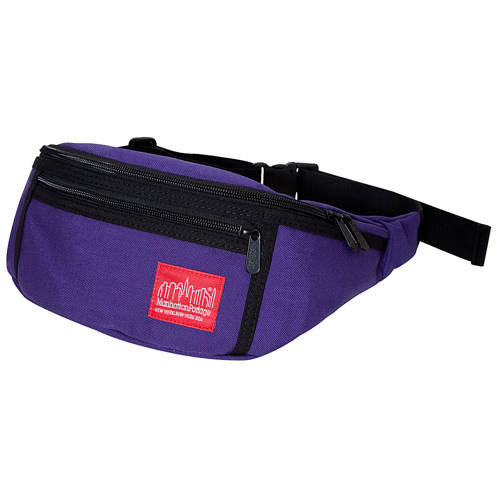 Manhattan Portage Alleycat Waistbag - Purple - Backpacks, Waist Packs