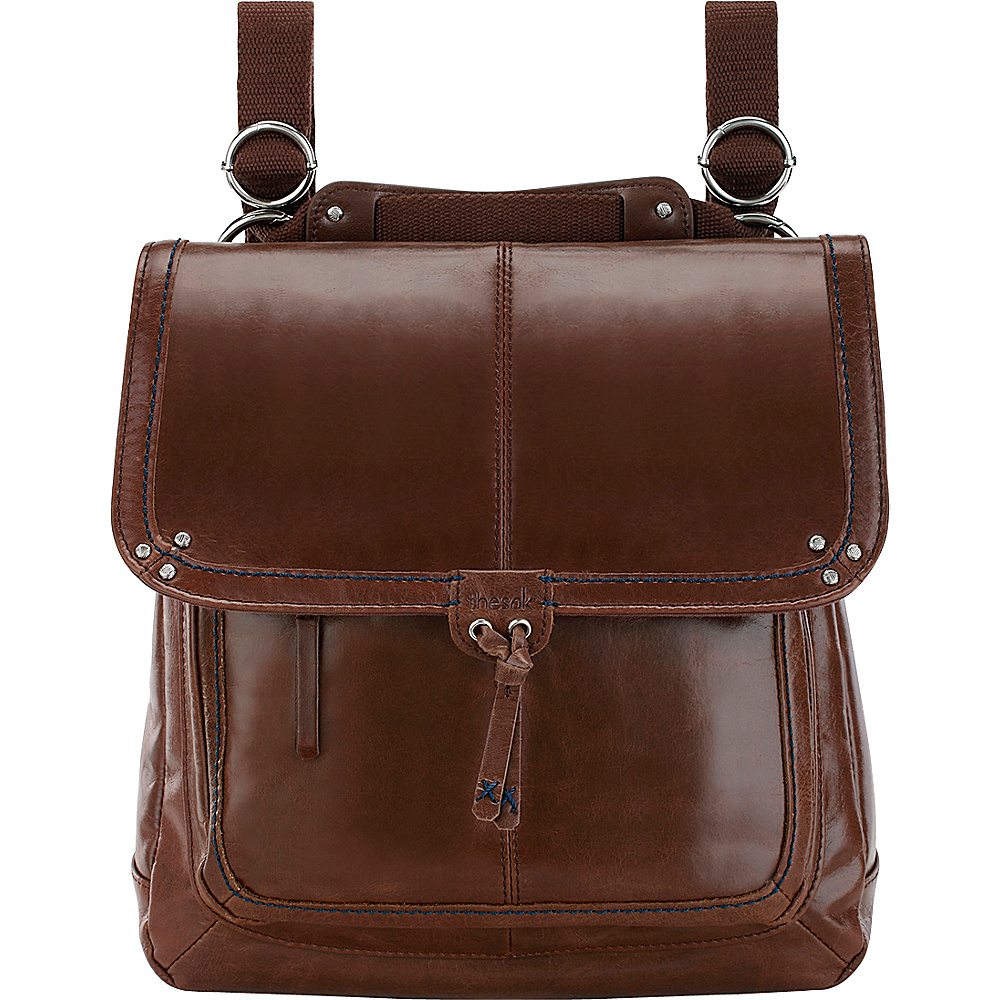 The Sak Ventura Convertible Backpack Handbag Teak The Sak Leather Handbags