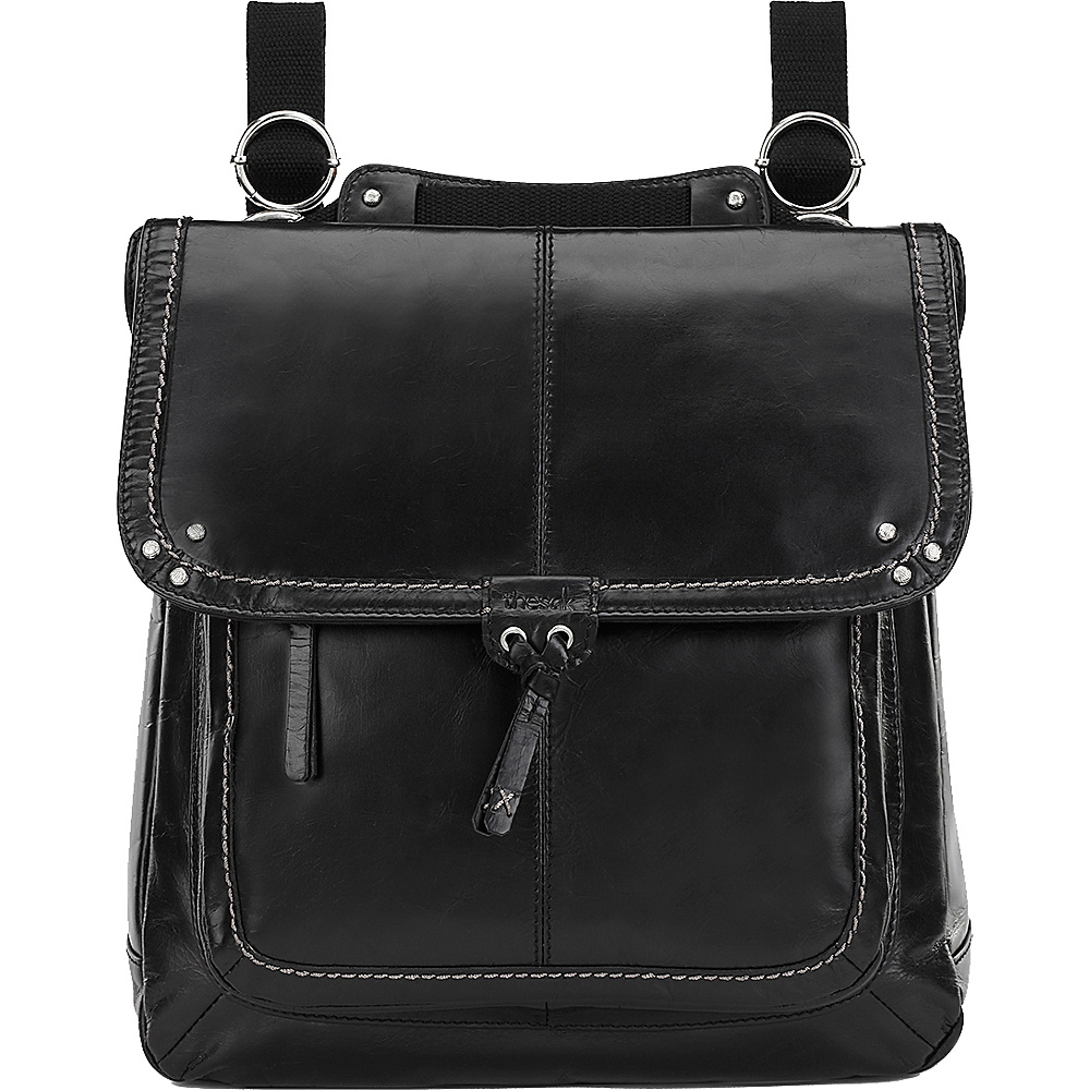 The Sak Ventura Convertible Backpack - Black - Handbags, Leather Handbags