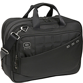 Expandable Laptop Brief Black