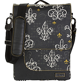 On-the-Run Laptop Bag Fleur de Lis