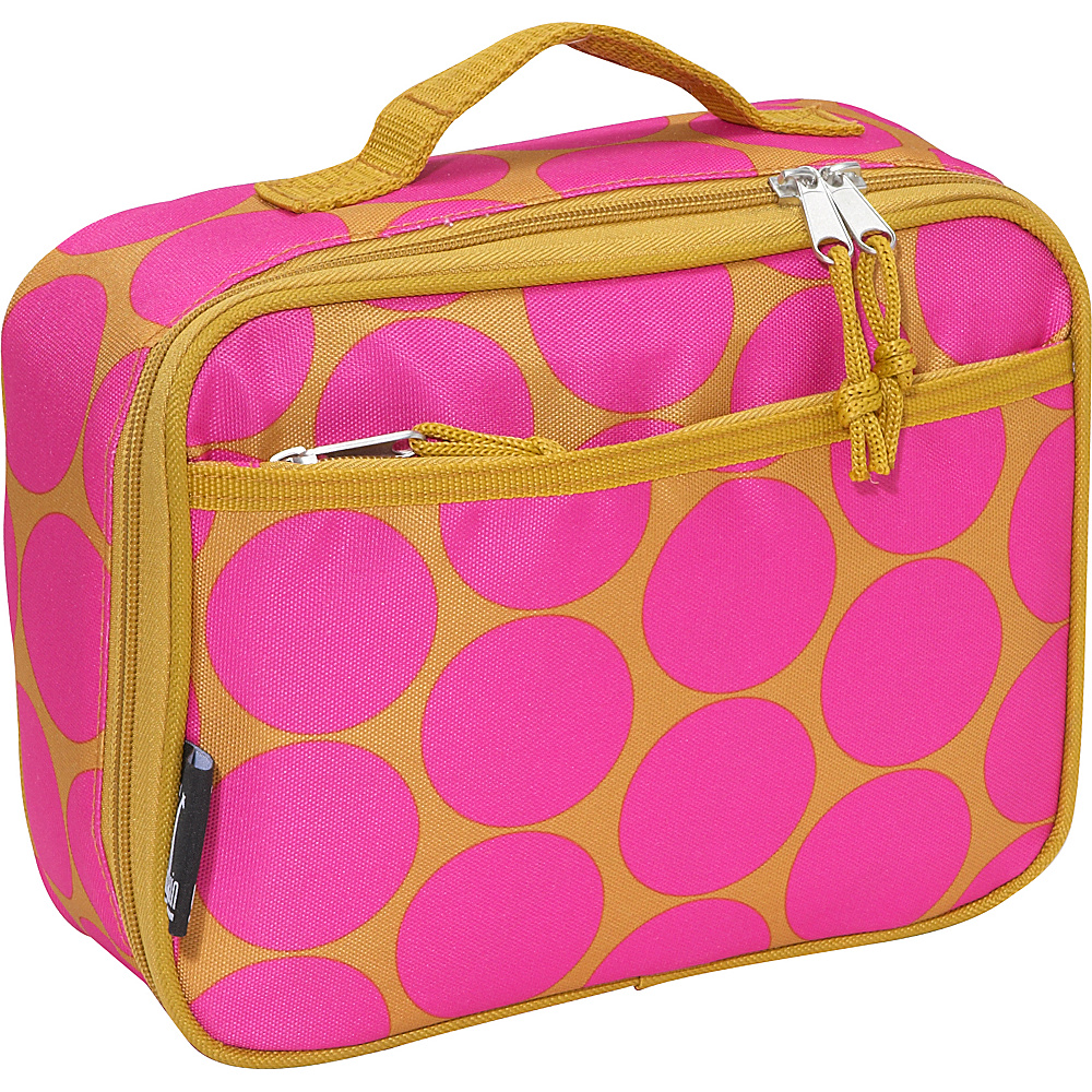 Wildkin Big Dots Hot Pink Lunch Box - Big Dots Hot Pink - Travel Accessories, Travel Coolers