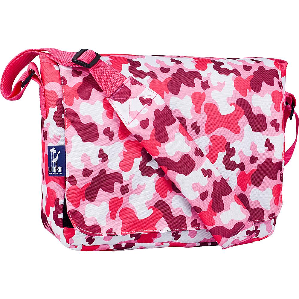 Wildkin Kickstart Messenger Bag Camo Pink - Wildkin Messenger Bags