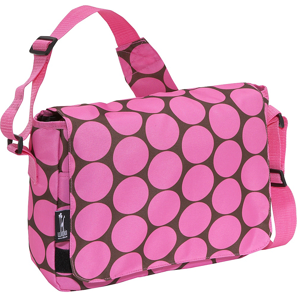 Wildkin Big Dots Pink Kickstart Messenger Bag - Big - Work Bags & Briefcases, Messenger Bags