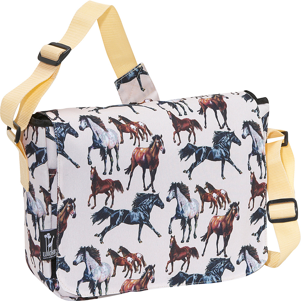 Wildkin Horse Dreams Kickstart Messenger Bag - Horse - Work Bags & Briefcases, Messenger Bags