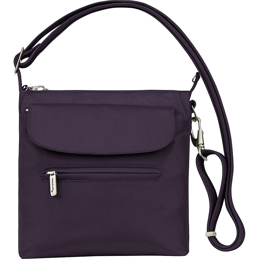 Travelon Anti-Theft Mini Shoulder Bag - Cross Body - Handbags, Fabric Handbags