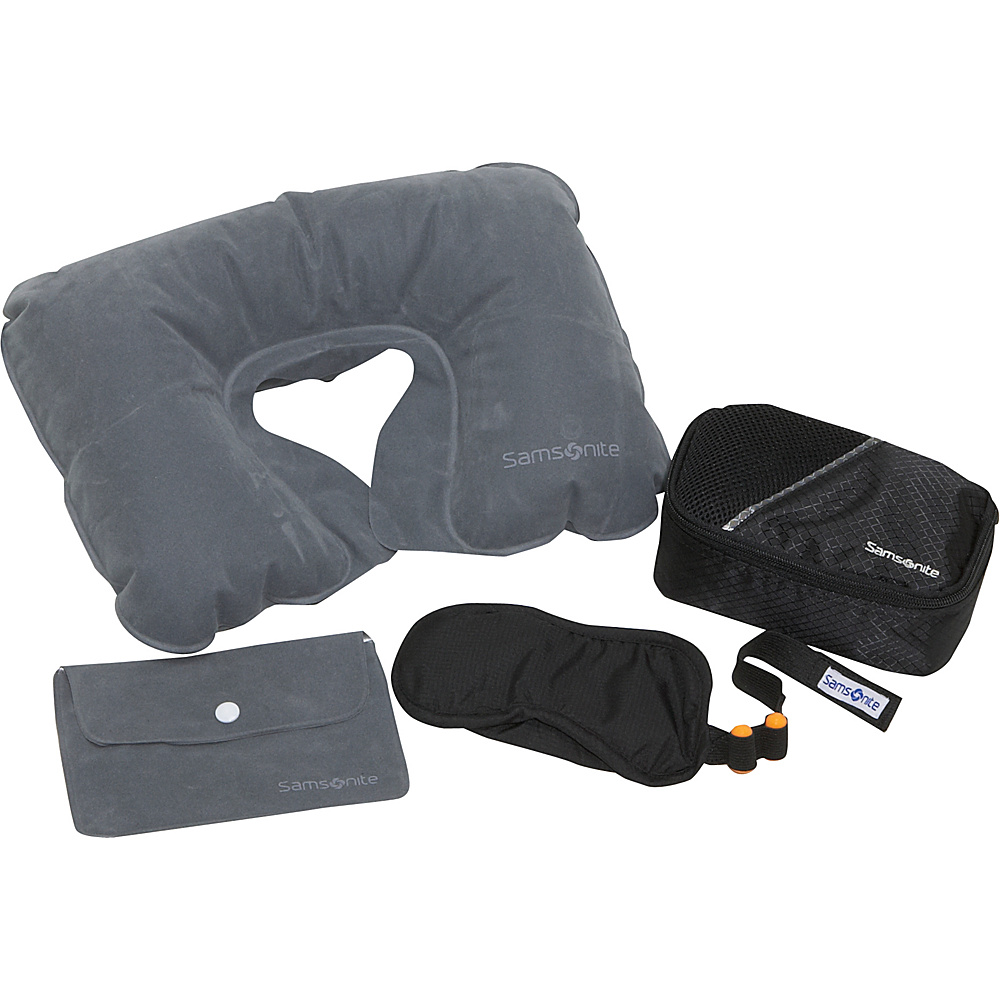 Samsonite Travel Accessories Travel Gift Set - Black - Travel Accessories, Travel Pillows & Blankets