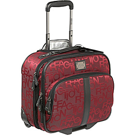 Taking Flight Wheeled Overnighter/Carry-On Red