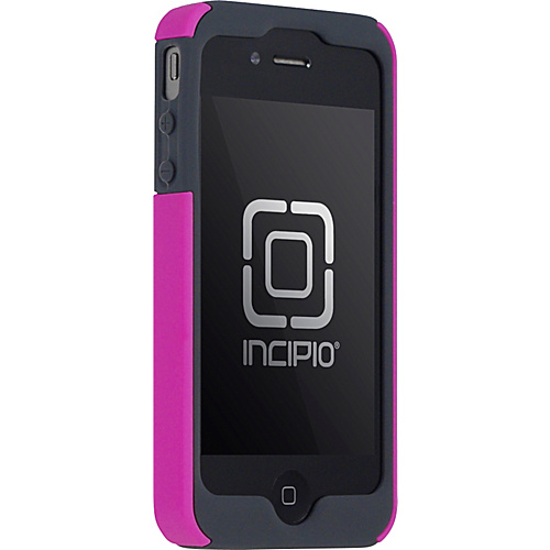Incipio SILICRYLIC for iPhone 4 - Dark Gray/Pink