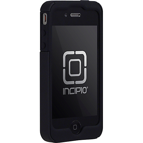 Incipio SILICRYLIC for iPhone 4 - Black/Black