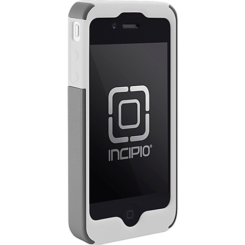 Incipio SILICRYLIC for iPhone 4 - White/Silver