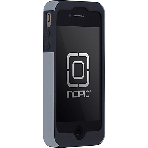 Incipio SILICRYLIC for iPhone 4 - Dark Gray/Light Gray