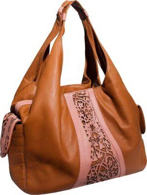 Free Endearment Kristina Tan/Rose - Free Endearment Leather Handbags