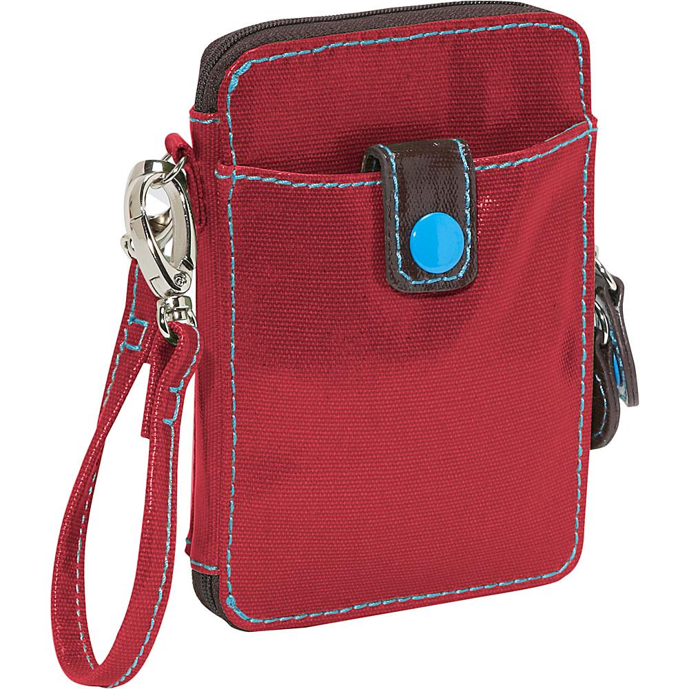Urban Junket Ellen Crossbody Wallet Scarlet