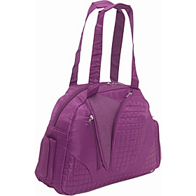 Cartwheel Overnight/Gym Bag Plum
