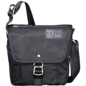 T-Tech Icon Lewis Small Flap Crossbody Black