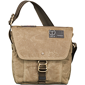 T-Tech Icon Lewis Small Flap Crossbody Khaki