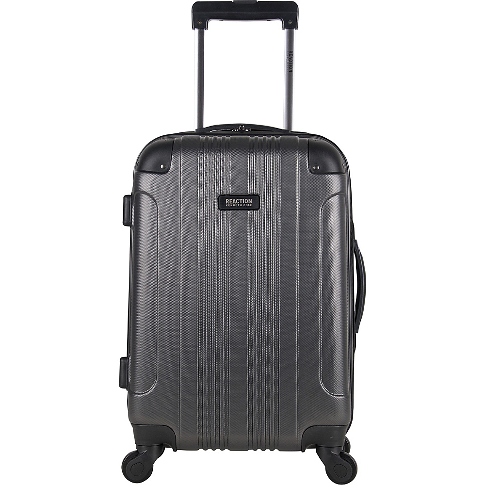 Kenneth Cole Reaction Out of Bounds 20 Spinner Carry-On Luggage - Exclusive Colors Gray - Kenneth Cole Reaction Hardside Carry-On - Luggage, Hardside Carry-On