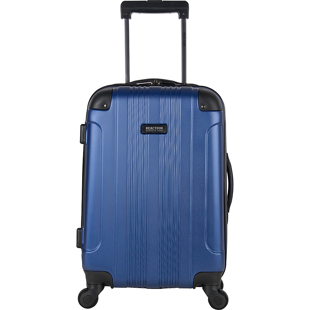 "Kenneth Cole Reaction Out of Bounds 20"" Spinner Carry-On Luggage - Exclusive Colors Cobalt - Kenneth Cole Reaction Hardside Carry-On"