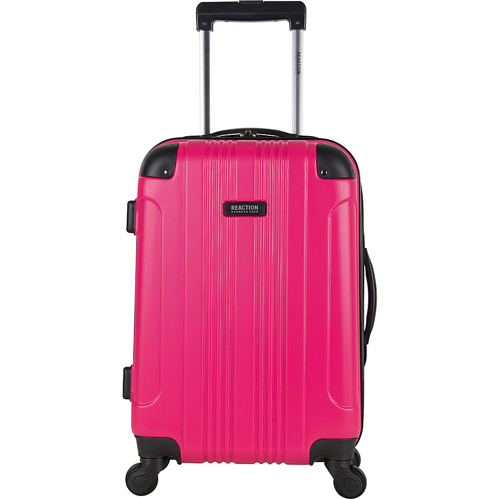Kenneth Cole Reaction Out of Bounds 20 Molded Upright Spinner Pink Kenneth Cole Reaction Hardside Carry On