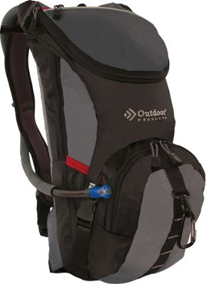 Outdoor Products Ripcord Hydration Pack Graphite - Outdoor Products Hydration Packs and Bottles