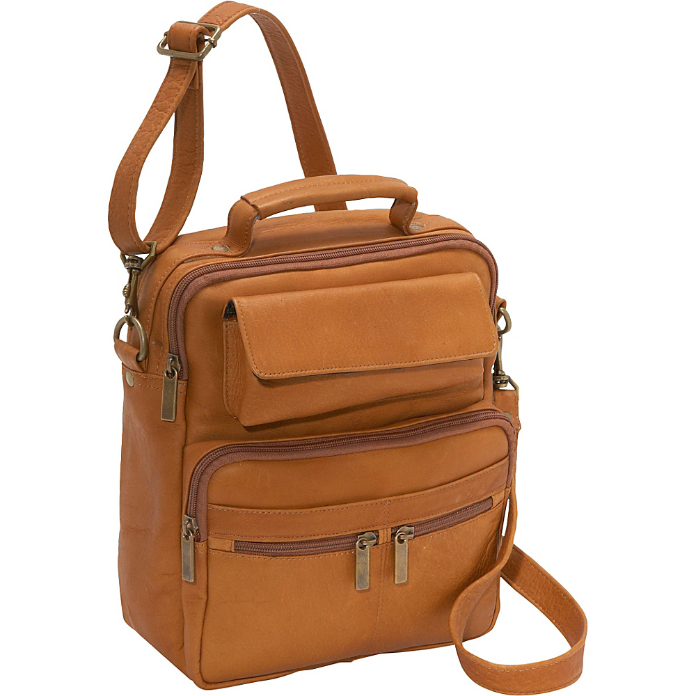 David King & Co. Large Mens Bag - Tan - Work Bags & Briefcases, Other Men's Bags
