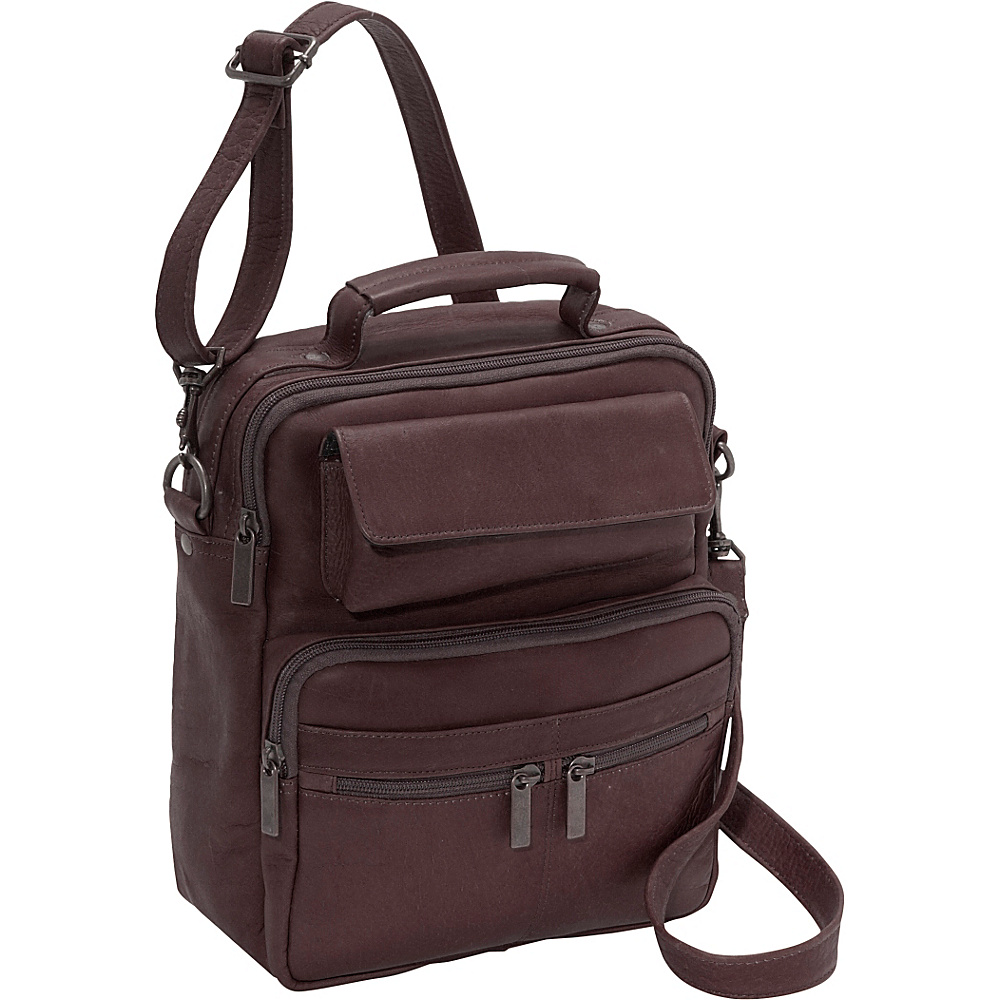 David King & Co. Large Mens Bag - Cafe - Work Bags & Briefcases, Other Men's Bags