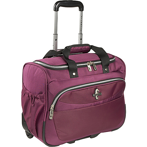 Atlantic Compass 2 Wheeled Carry-On Tote - Cranberry