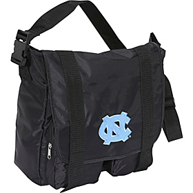 North Carolina Tar Heels Sitter Diaper Bag Black