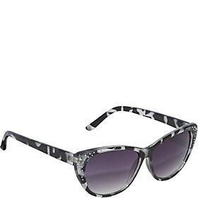 Cateye Rhinestone Sunglasses BlackPython