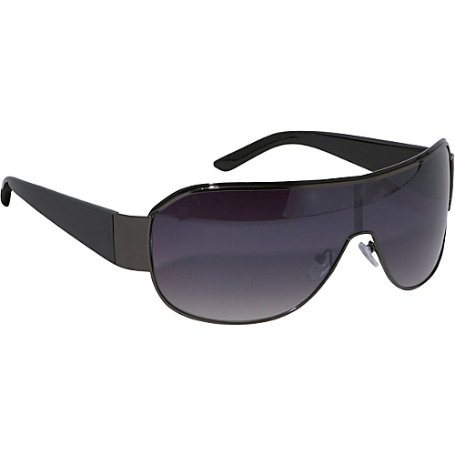 SW Global Sunglasses Shield Fashion Sunglasses - Black