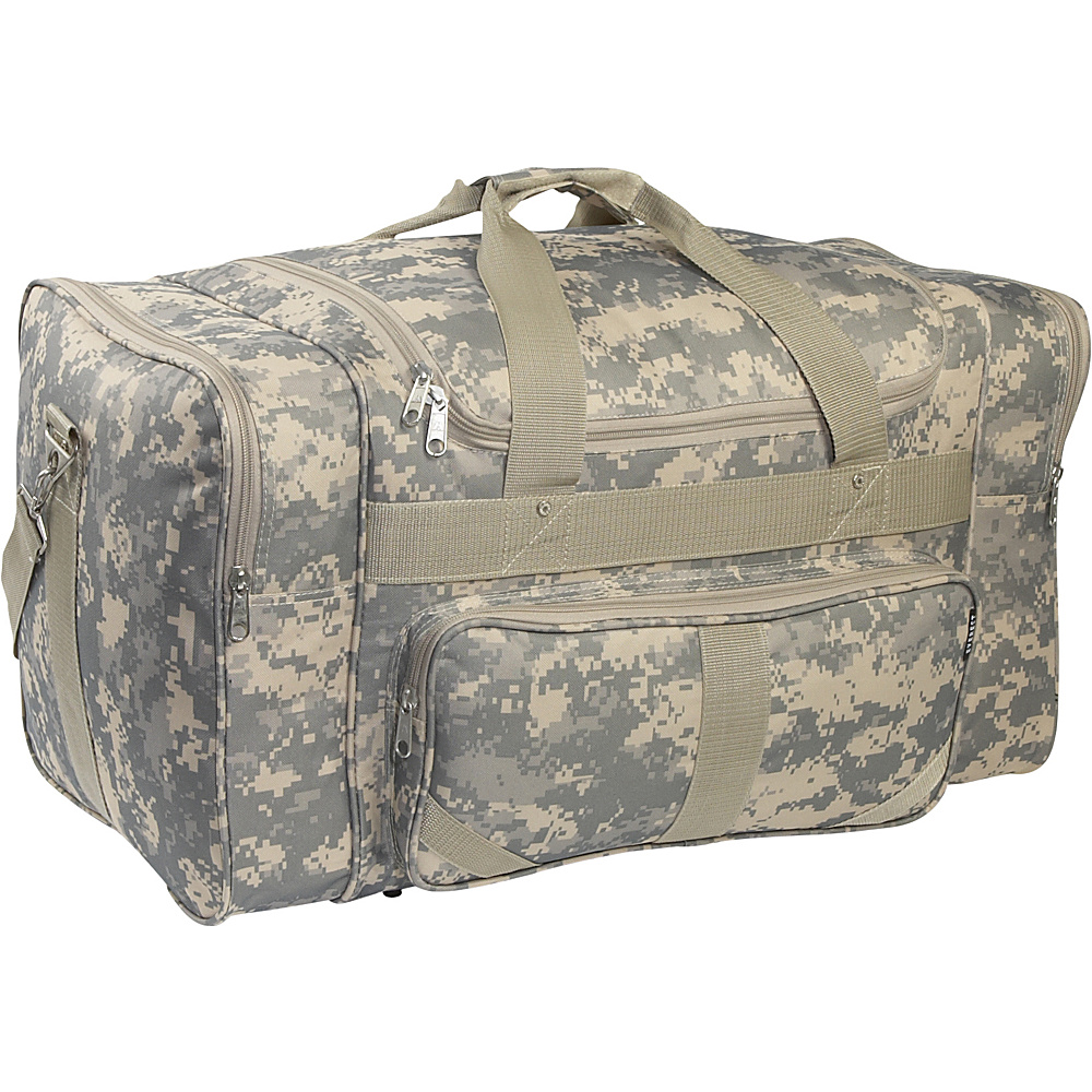 Everest Digital Camo 27 Duffel Bag - Digital Camo - Duffels, Travel Duffels