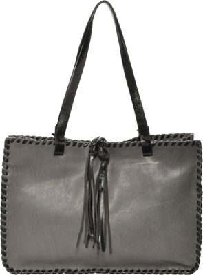Carla Mancini Signature Tote GREY - Carla Mancini Designer Handbags