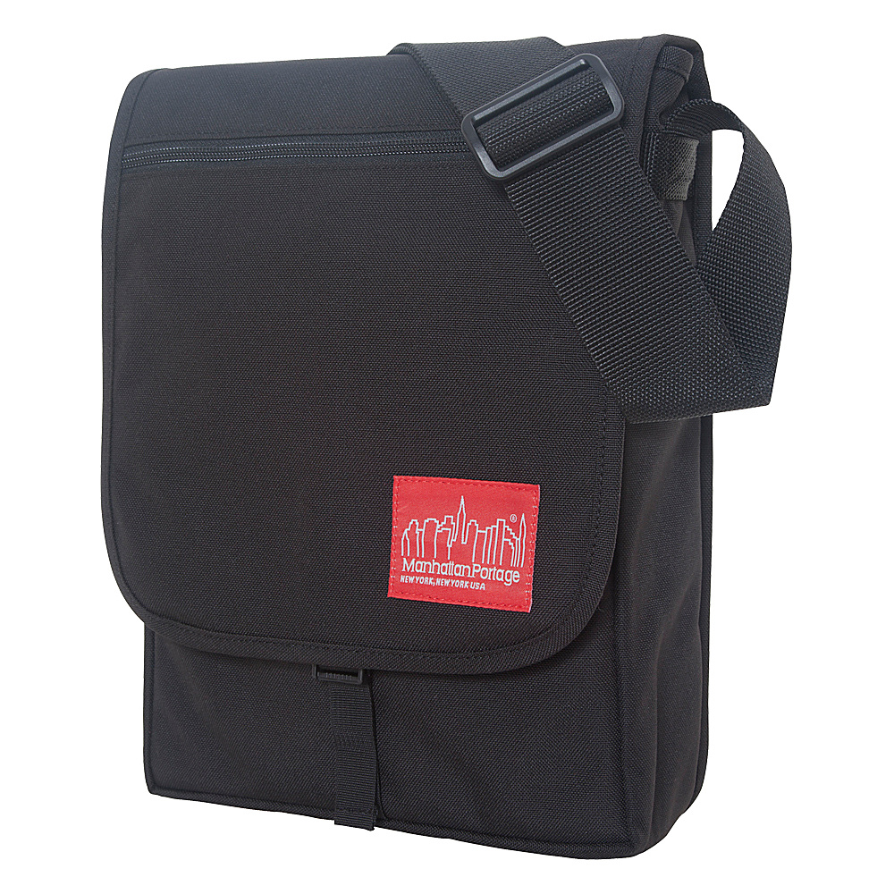 Manhattan Portage Manhattan Laptop Bag - Black - Work Bags & Briefcases, Messenger Bags