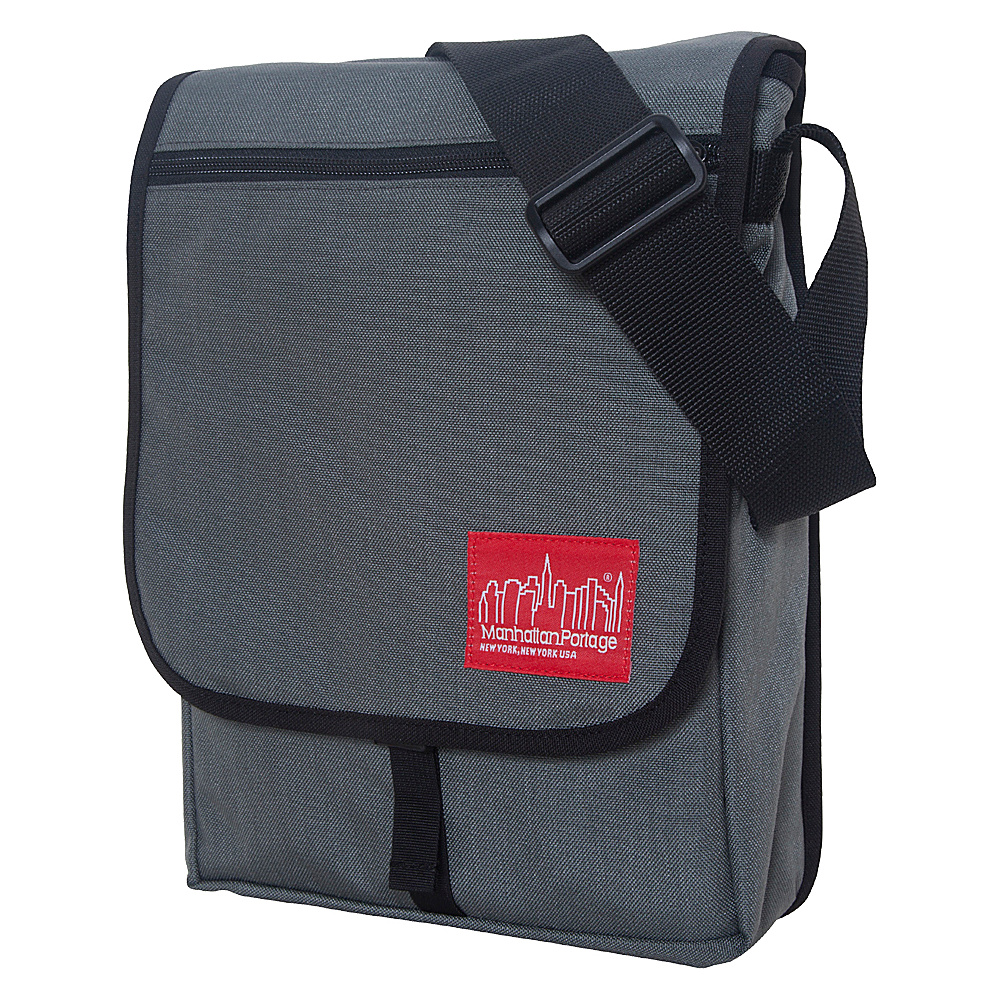 Manhattan Portage Manhattan Laptop Bag - Gray - Work Bags & Briefcases, Messenger Bags