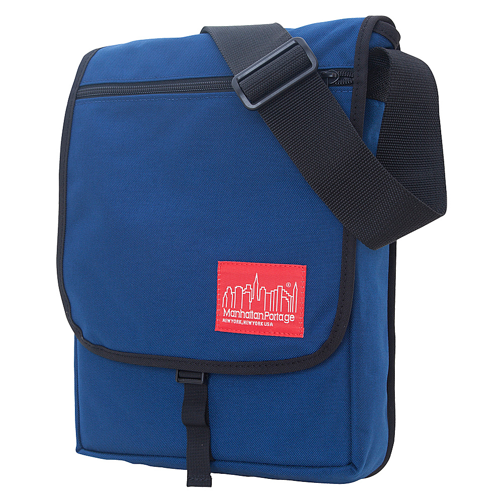 Manhattan Portage Manhattan Laptop Bag - Navy - Work Bags & Briefcases, Messenger Bags